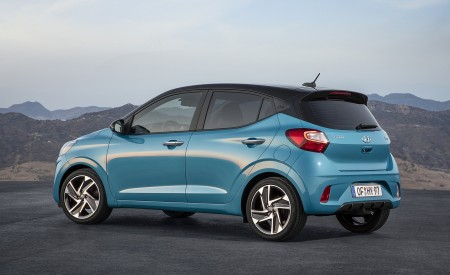 2020 Hyundai i10 Rear Three-Quarter Wallpapers 450x275 (64)