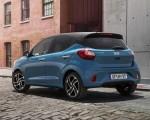 2020 Hyundai i10 Rear Three-Quarter Wallpapers 150x120