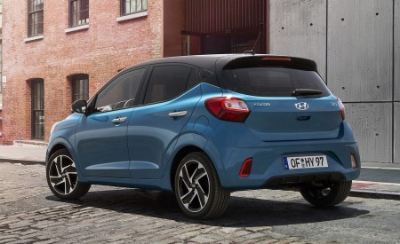 2020 Hyundai i10 Rear Three-Quarter Wallpapers 450x275 (59)