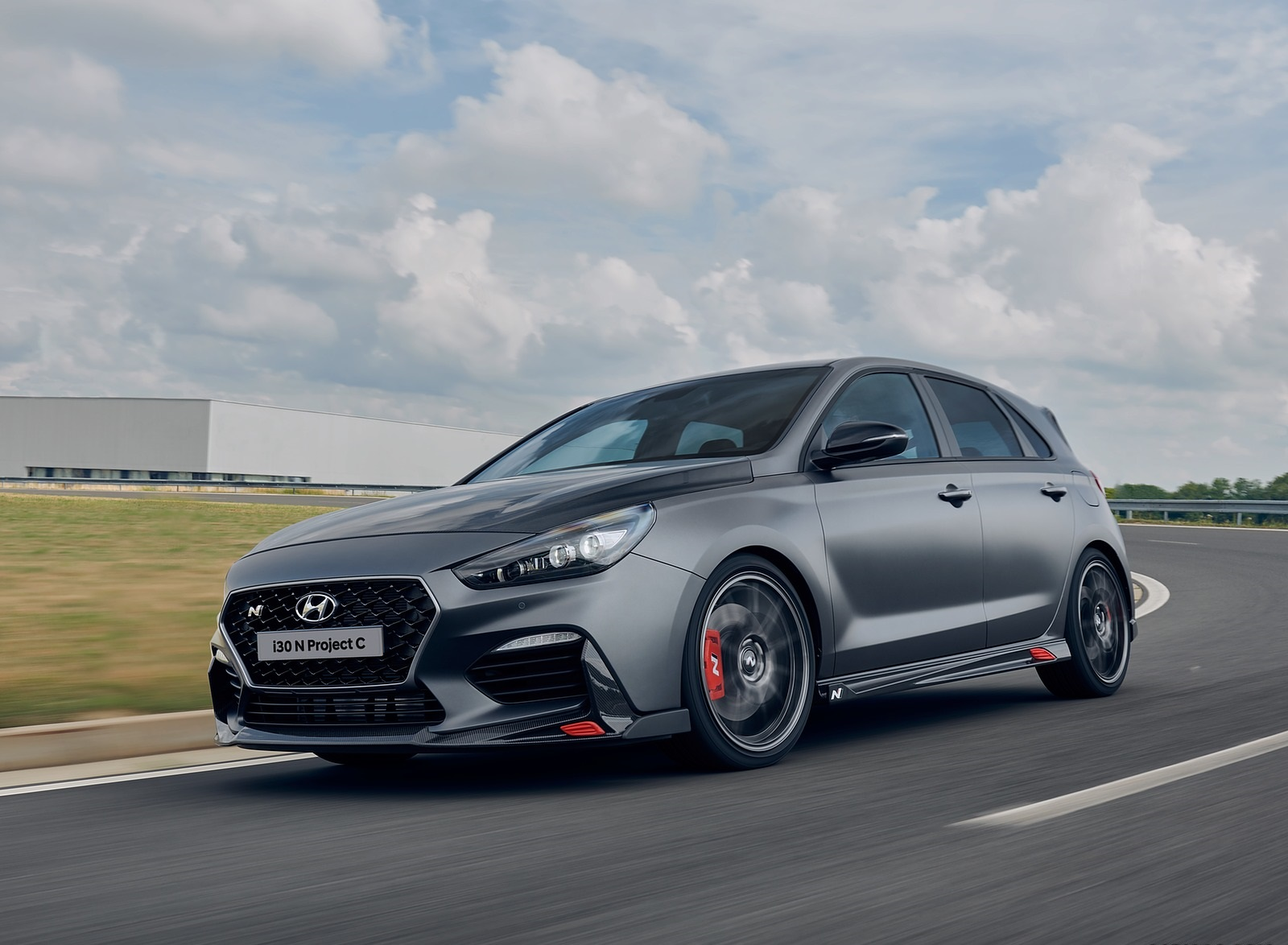 2020 Hyundai i30 N Project C Front Three-Quarter Wallpapers (1)
