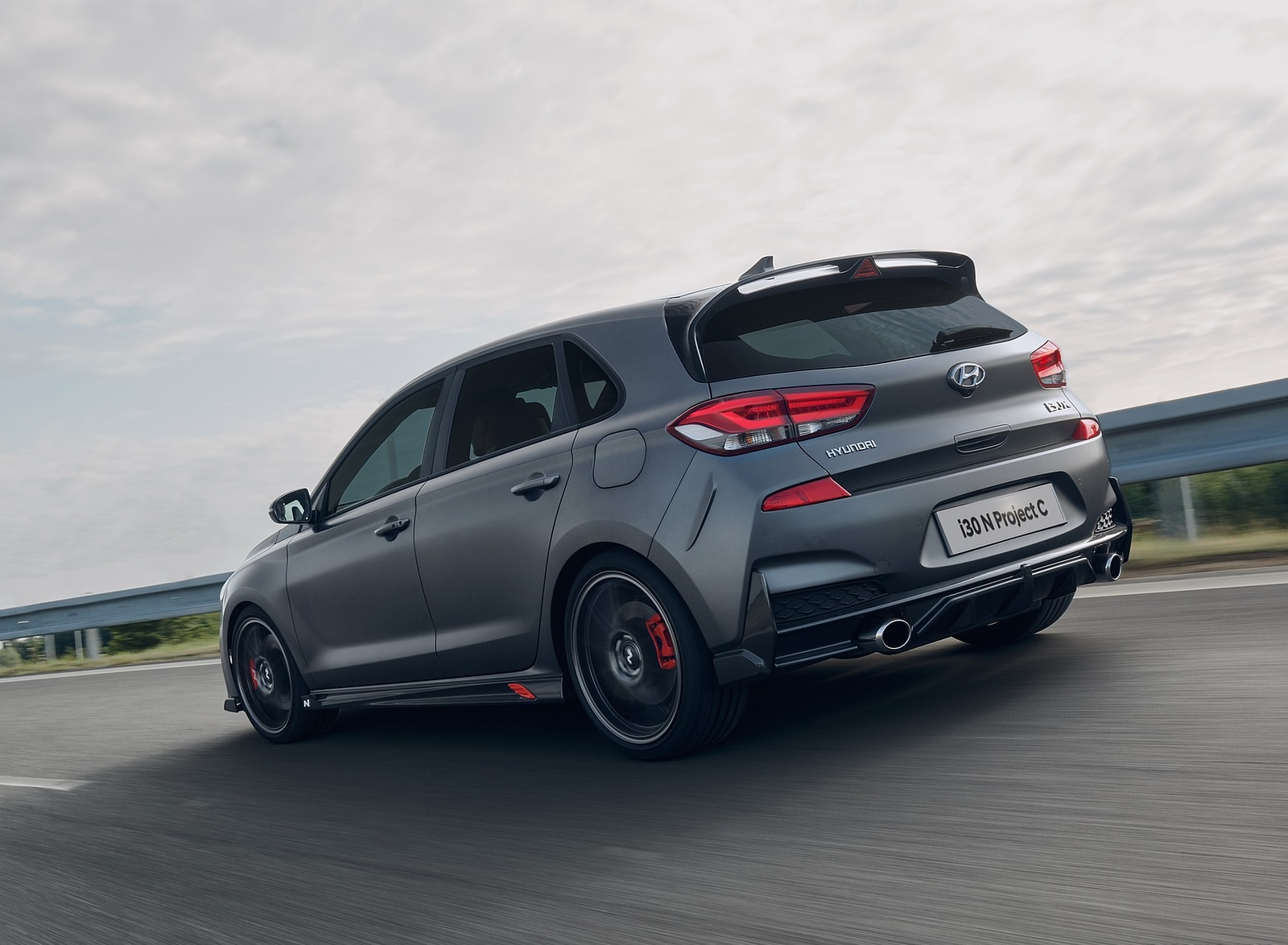 2020 Hyundai i30 N Project C Rear Three-Quarter Wallpapers (6)