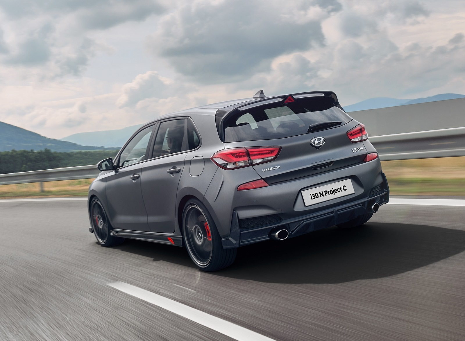 2020 Hyundai i30 N Project C Rear Three-Quarter Wallpapers (7)