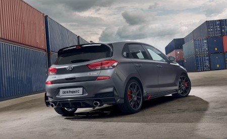 2020 Hyundai i30 N Project C Rear Three-Quarter Wallpapers 450x275 (17)