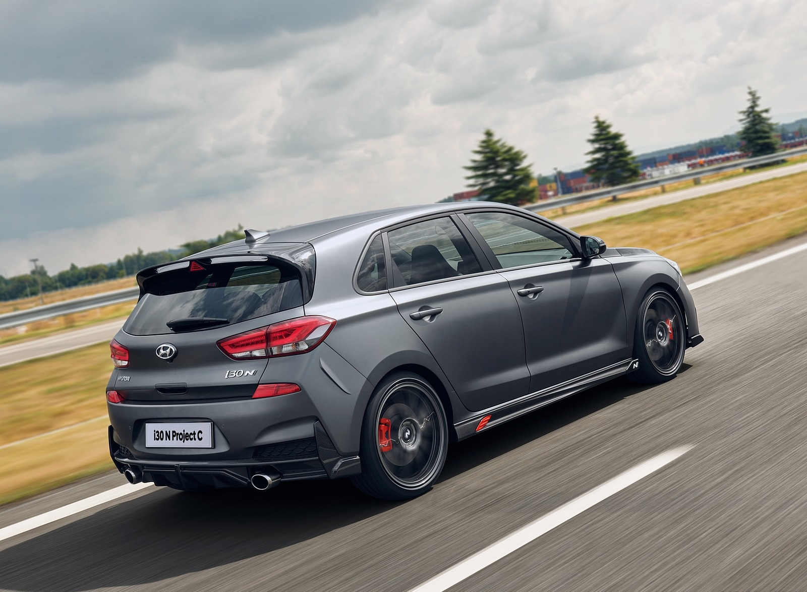 2020 Hyundai i30 N Project C Rear Three-Quarter Wallpapers (8)