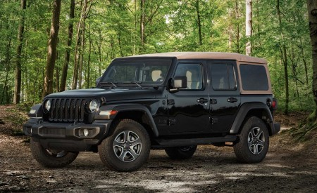 2020 Jeep Wrangler Black And Tan Edition Wallpapers HD
