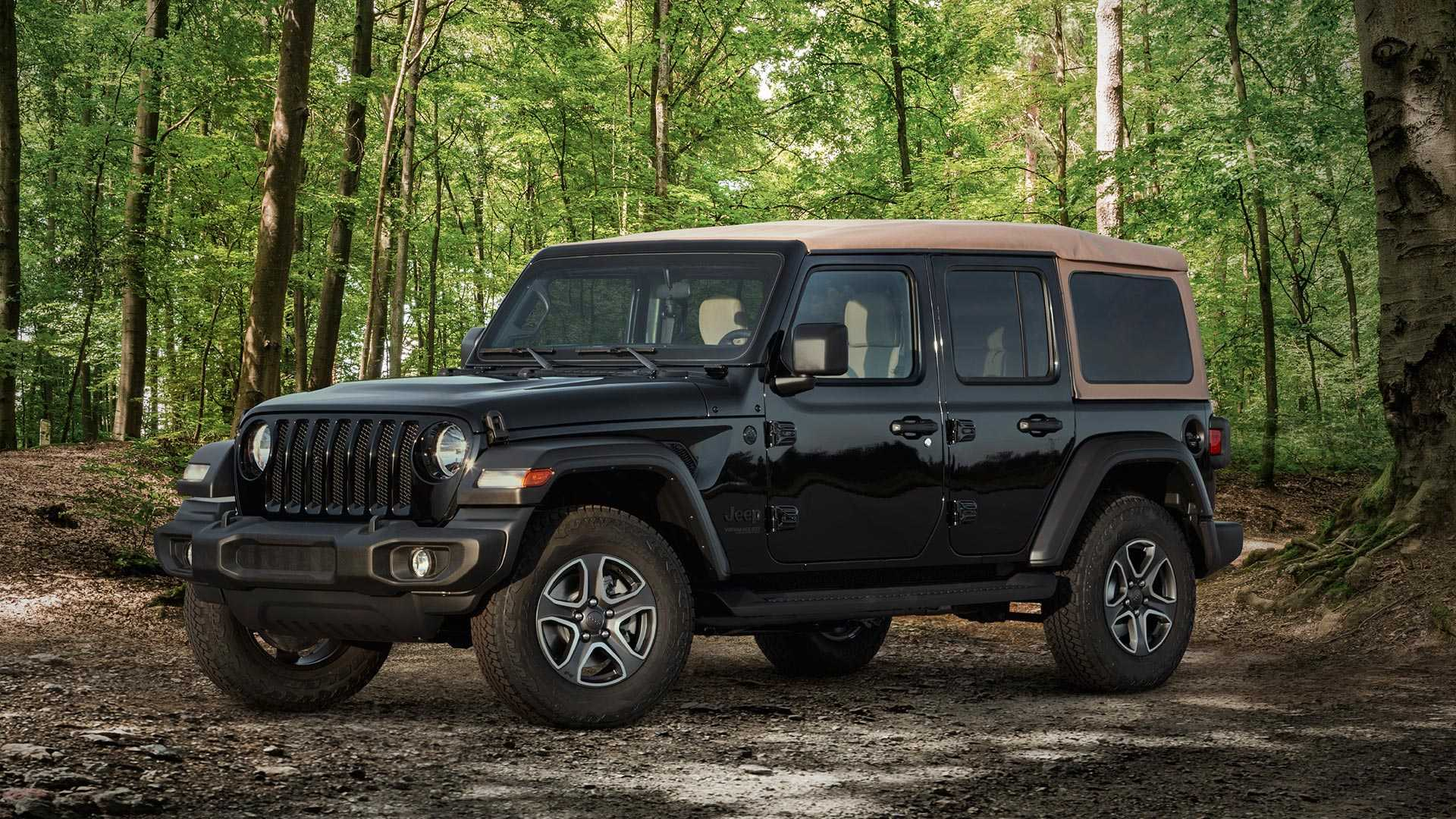 2020 Jeep Wrangler Black and Tan Edition Front Three-Quarter Wallpapers (1)