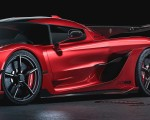 2020 Koenigsegg Jesko Cherry Red Edition10 Detail Wallpapers 150x120 (8)