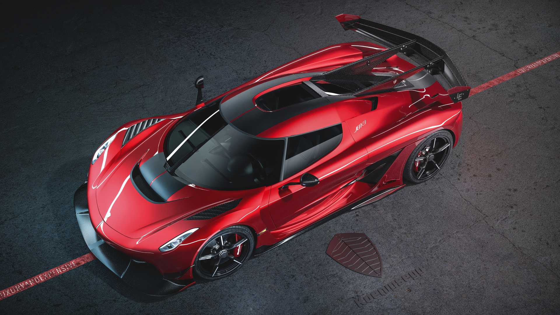 2020 Koenigsegg Jesko Cherry Red Edition10 Front Three-Quarter Wallpapers (1)