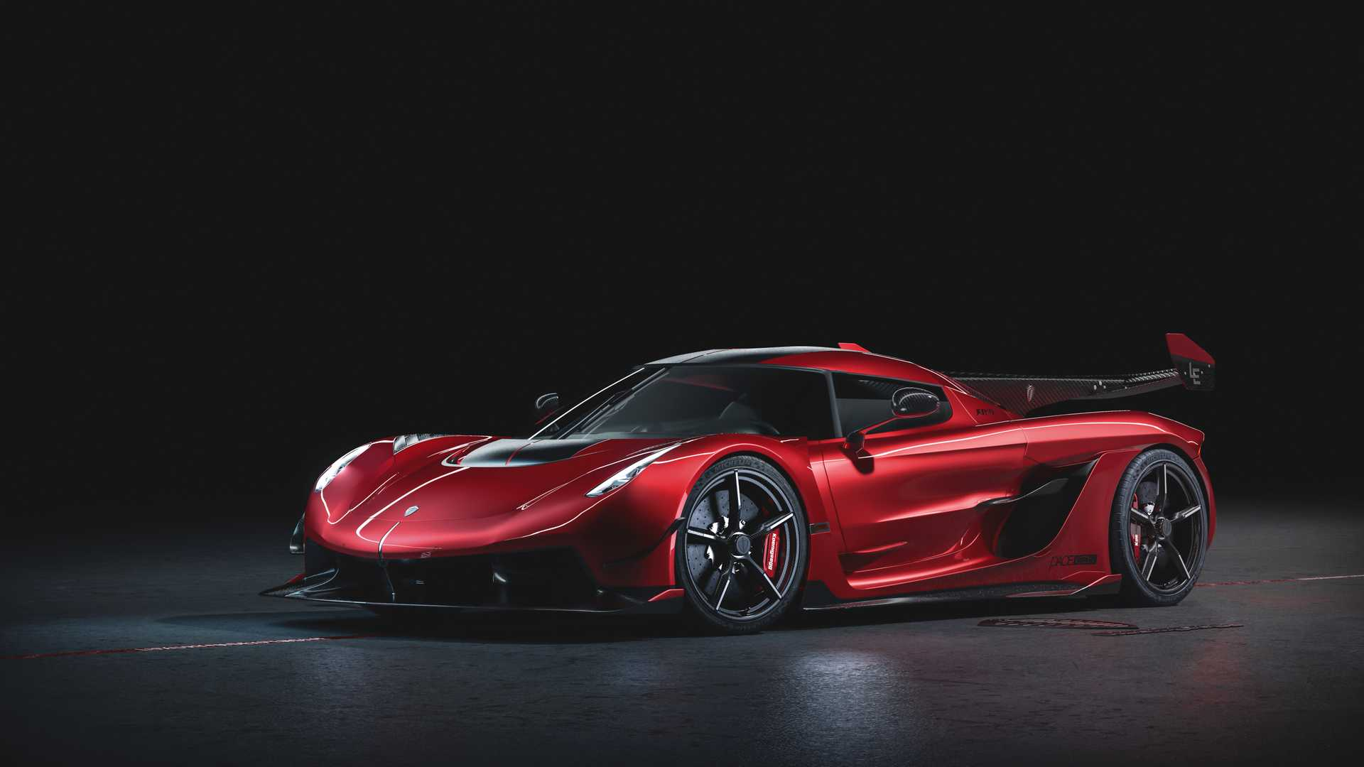 2020 Koenigsegg Jesko Cherry Red Edition10 Front Three-Quarter Wallpapers (2)