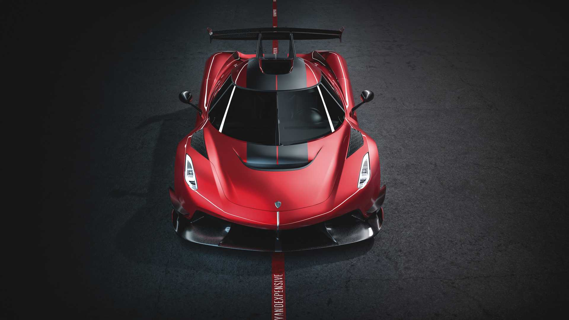 2020 Koenigsegg Jesko Cherry Red Edition10 Front Wallpapers (3)