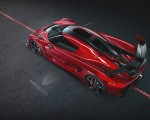 2020 Koenigsegg Jesko Cherry Red Edition10 Rear Three-Quarter Wallpapers 150x120 (4)