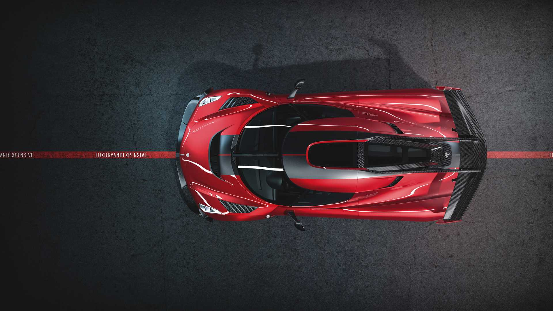 2020 Koenigsegg Jesko Cherry Red Edition10 Top Wallpapers (7)
