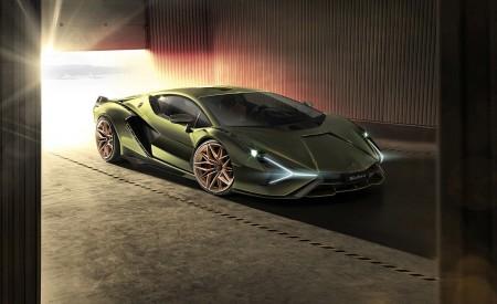 2020 Lamborghini Sián Front Three-Quarter Wallpapers 450x275 (9)
