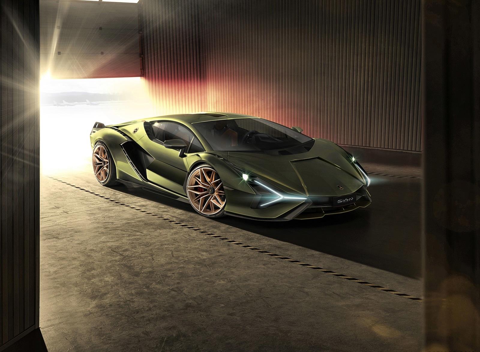 2020 Lamborghini Sián Front Three-Quarter Wallpapers (9)