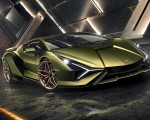2020 Lamborghini Sián Front Three-Quarter Wallpapers 150x120