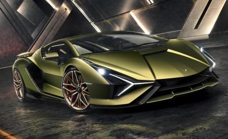 2020 Lamborghini Sián Front Three-Quarter Wallpapers 450x275 (4)