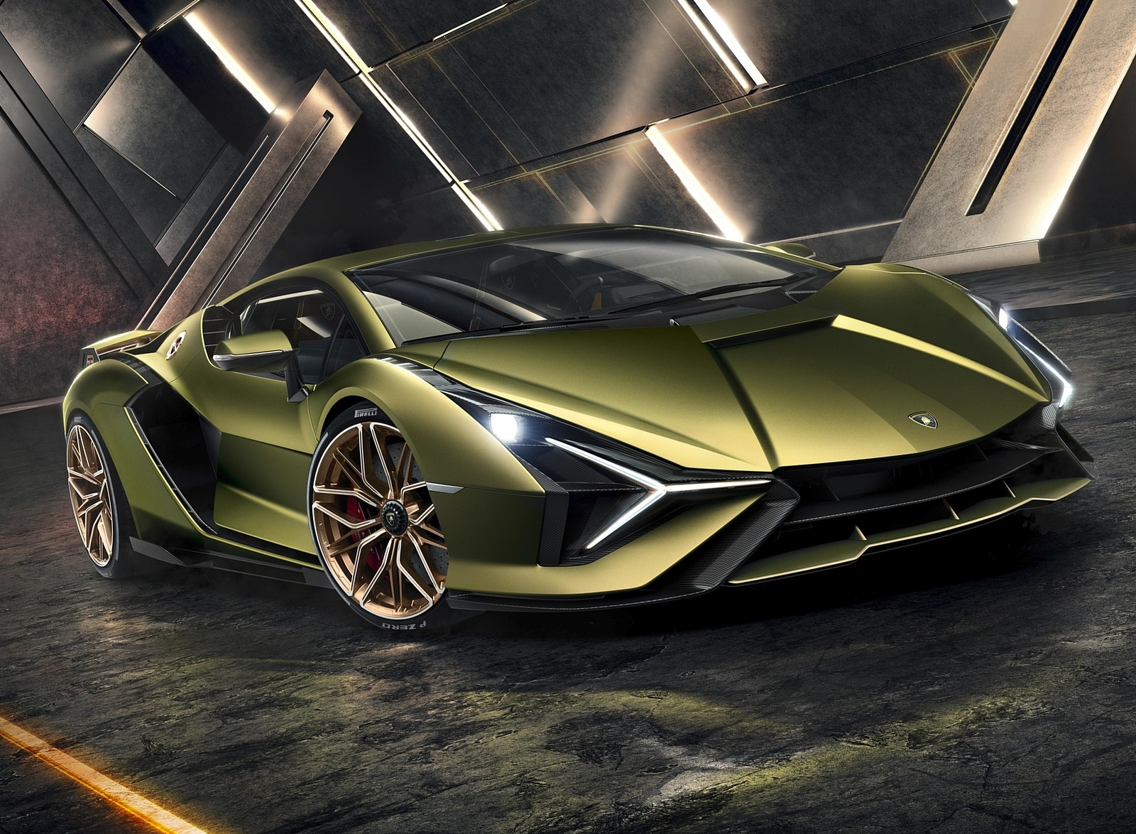 2020 Lamborghini Sián Front Three-Quarter Wallpapers (4)