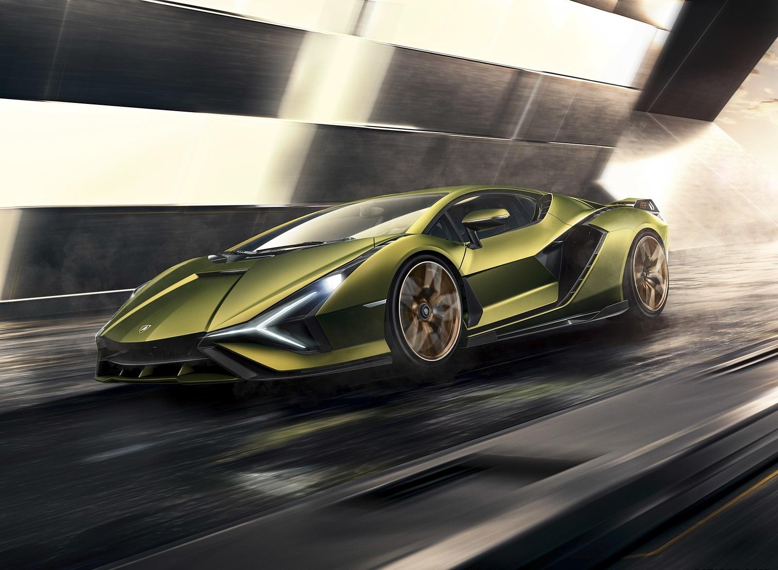 2020 Lamborghini Sián Front Three-Quarter Wallpapers (1)