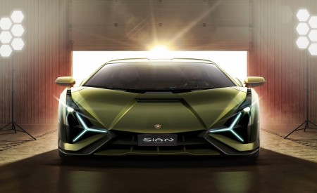 2020 Lamborghini Sián Front Wallpapers 450x275 (10)