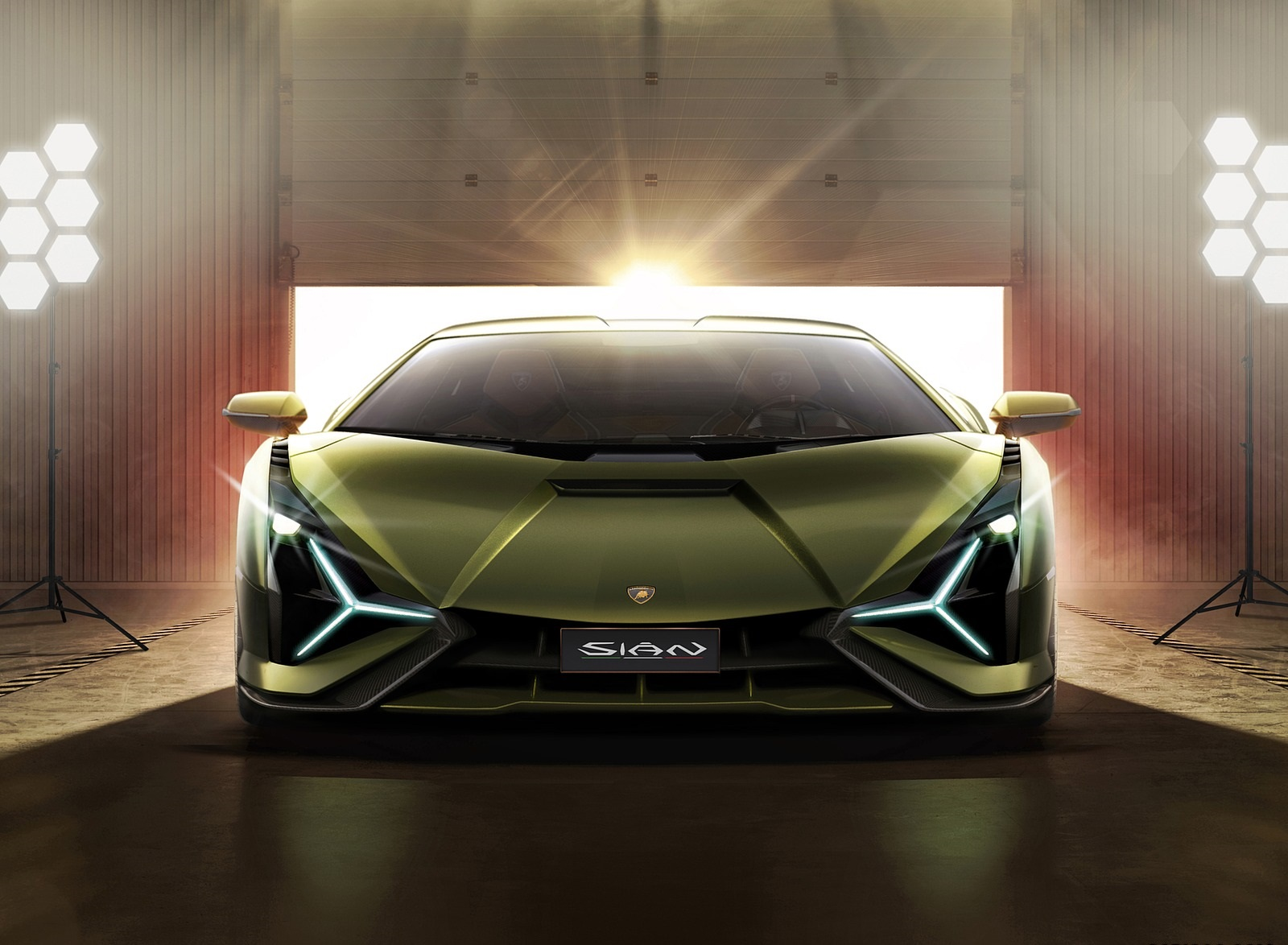 2020 Lamborghini Sián Front Wallpapers (10)