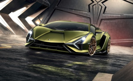 2020 Lamborghini Sián Front Wallpapers 450x275 (5)