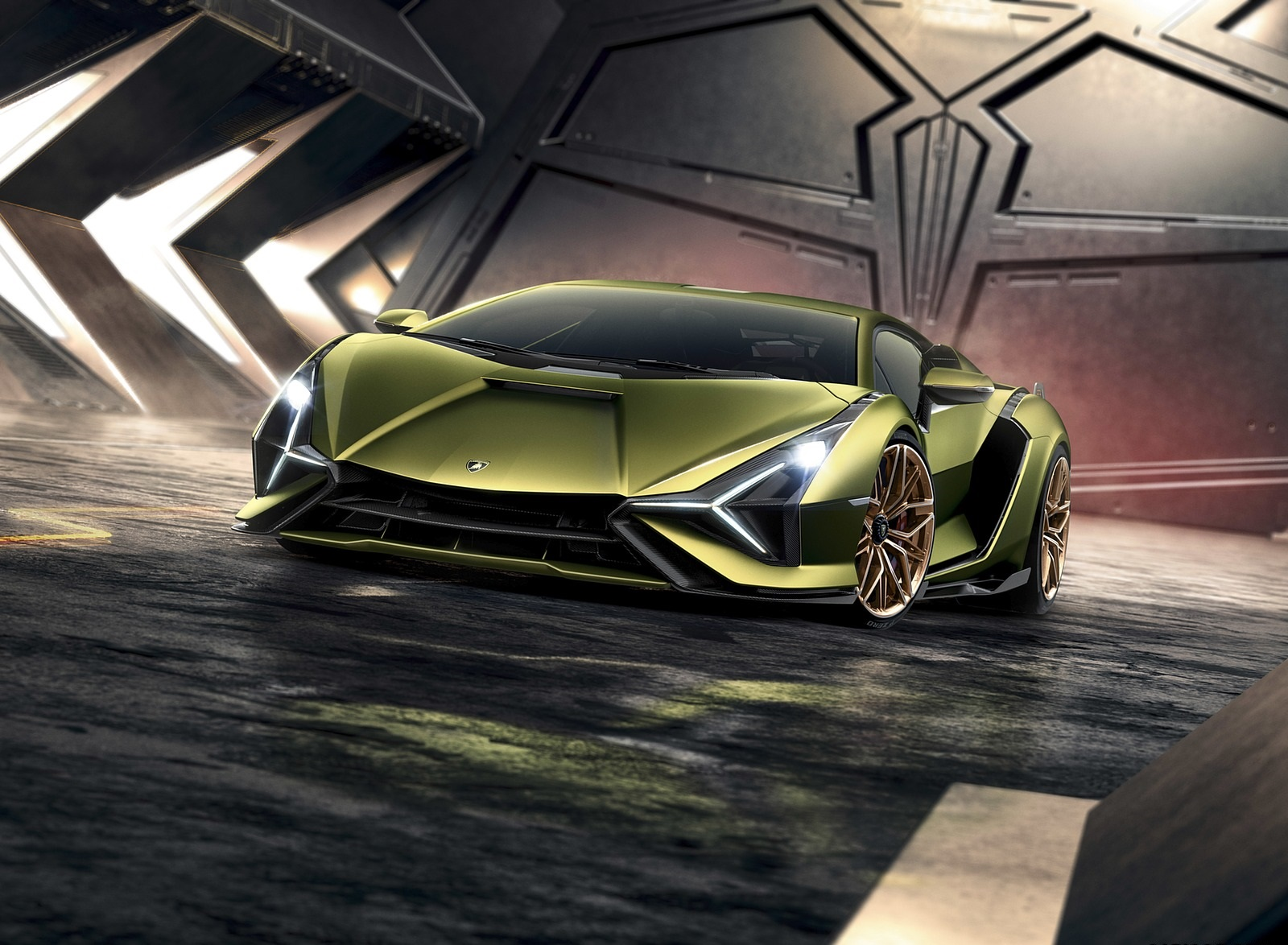 2020 Lamborghini Sián Front Wallpapers (5)