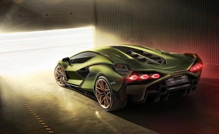 2020 Lamborghini Sián Rear Three-Quarter Wallpapers 450x275 (11)