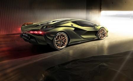 2020 Lamborghini Sián Rear Three-Quarter Wallpapers 450x275 (12)