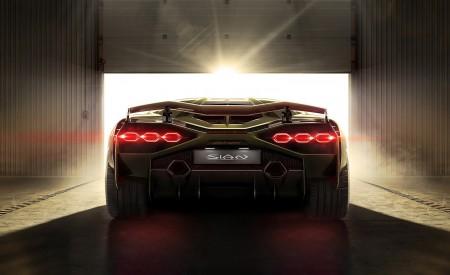 2020 Lamborghini Sián Rear Wallpapers 450x275 (13)