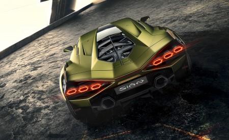 2020 Lamborghini Sián Rear Wallpapers 450x275 (6)