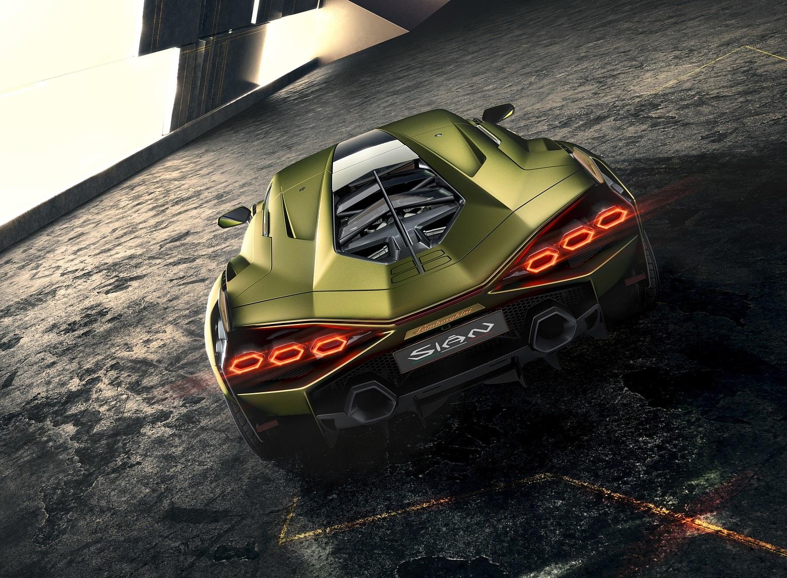 2020 Lamborghini Sián Rear Wallpapers (6)