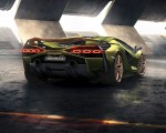 2020 Lamborghini Sián Rear Wallpapers 150x120
