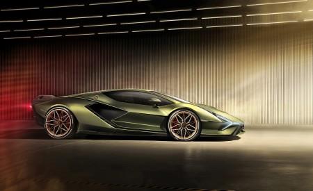 2020 Lamborghini Sián Side Wallpapers 450x275 (14)
