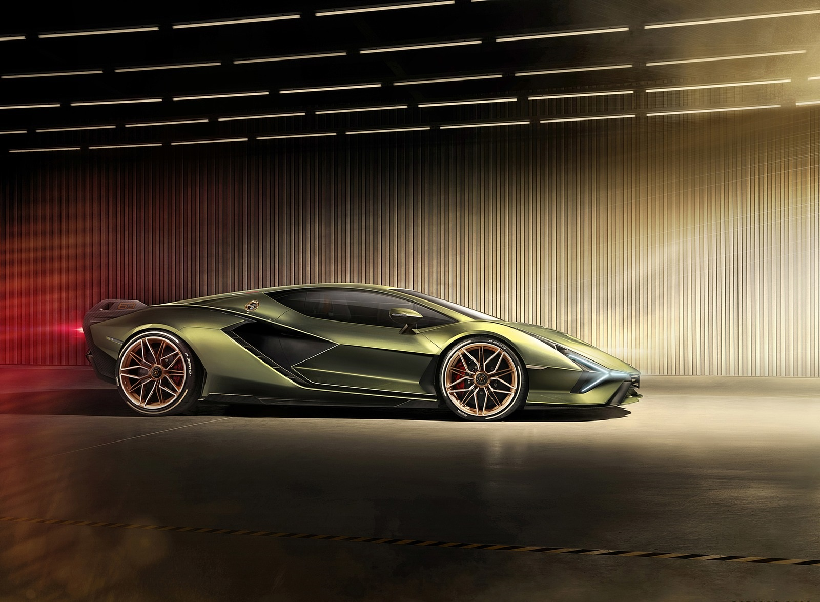 2020 Lamborghini Sián Side Wallpapers #14 of 18