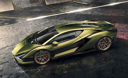 2020 Lamborghini Sián Side Wallpapers 450x275 (7)