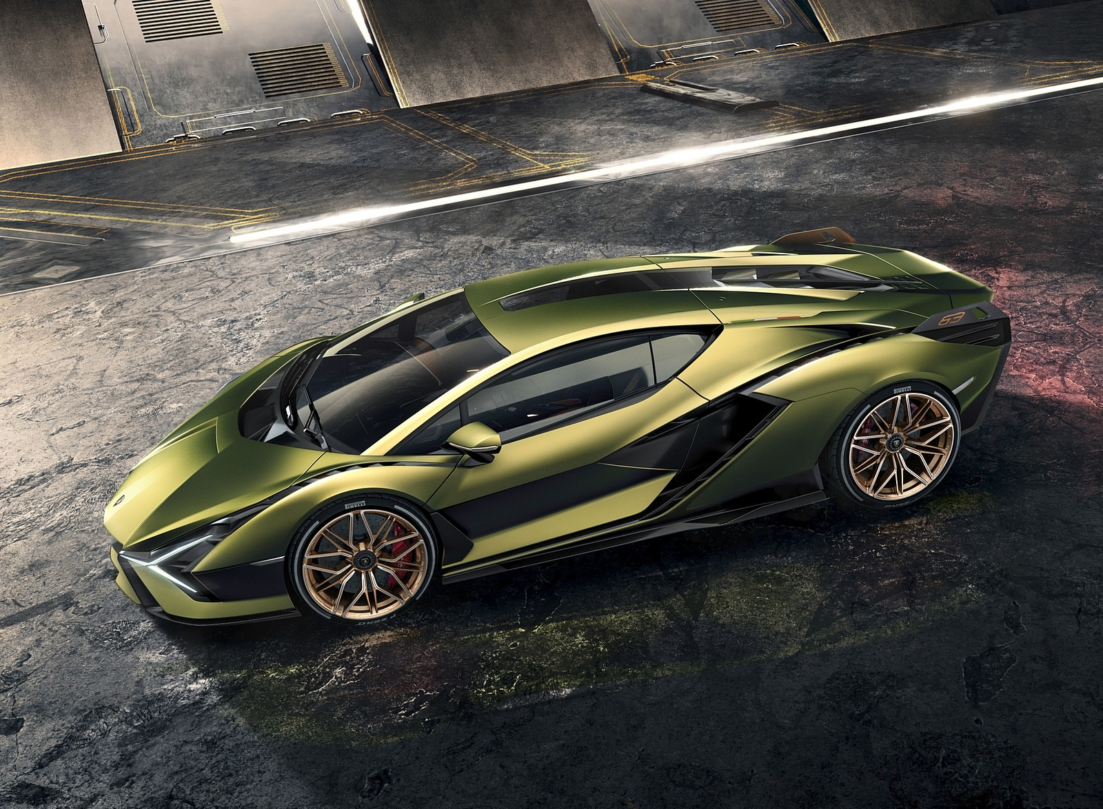 2020 Lamborghini Sián Side Wallpapers (7)