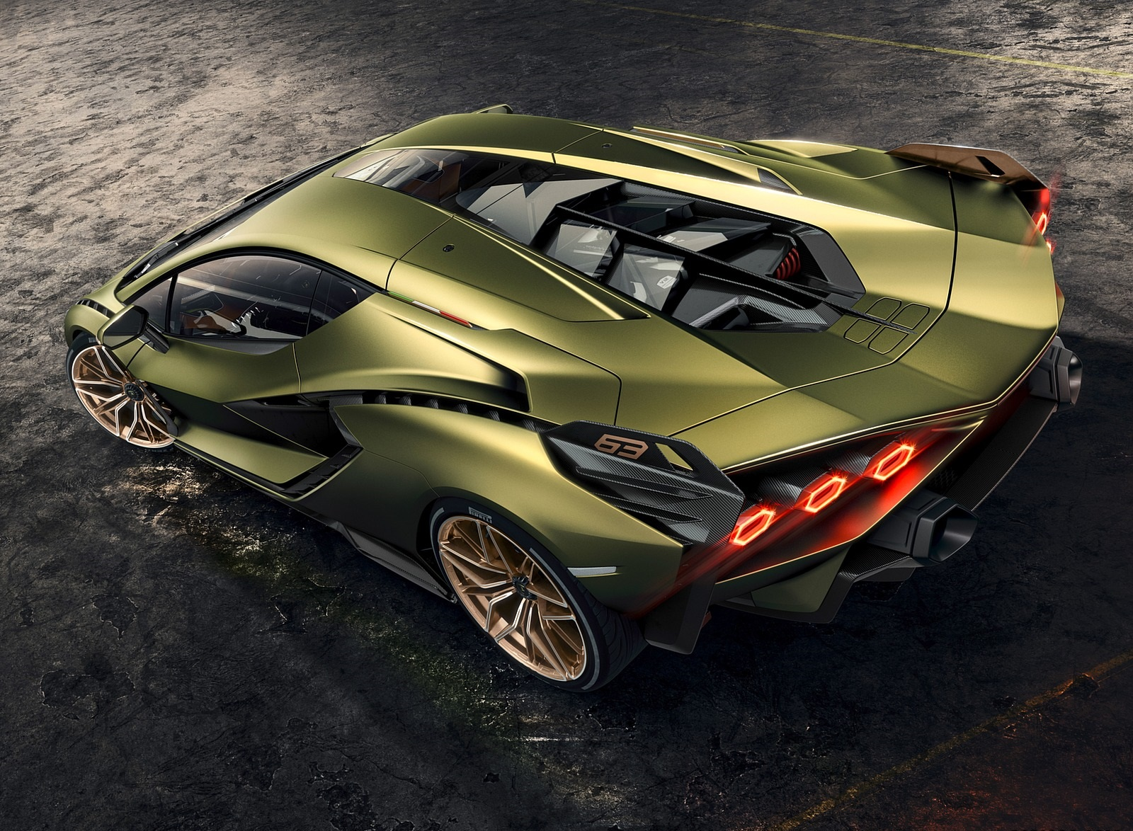 2020 Lamborghini Sián Top Wallpapers #8 of 18