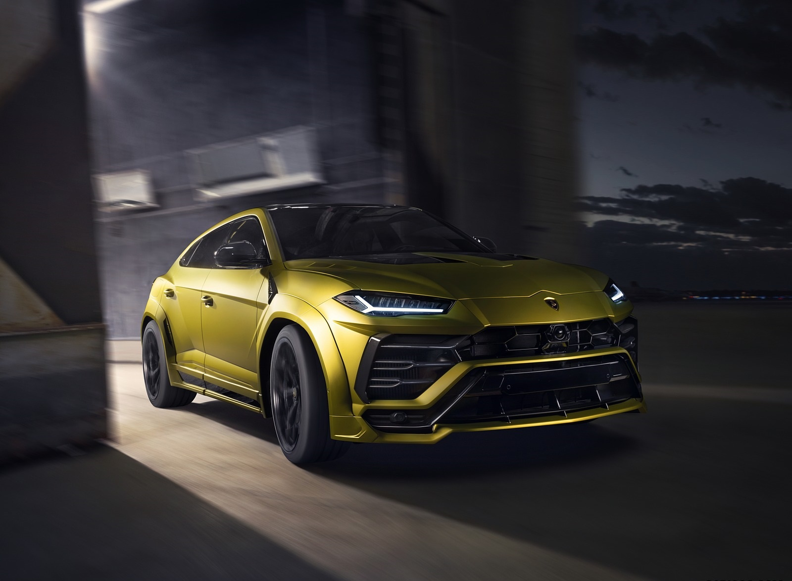 2020 NOVITEC Lamborghini Urus Front Three-Quarter Wallpapers (8)