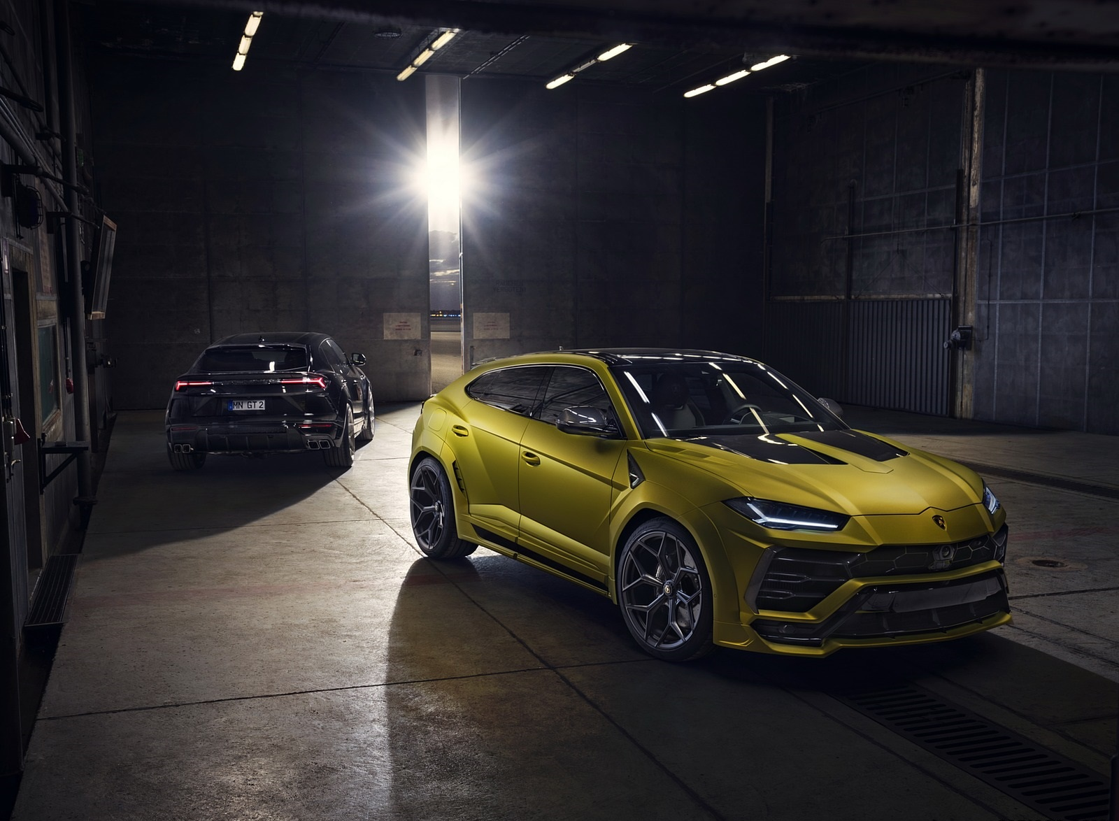 2020 NOVITEC Lamborghini Urus Front Three-Quarter Wallpapers (9)