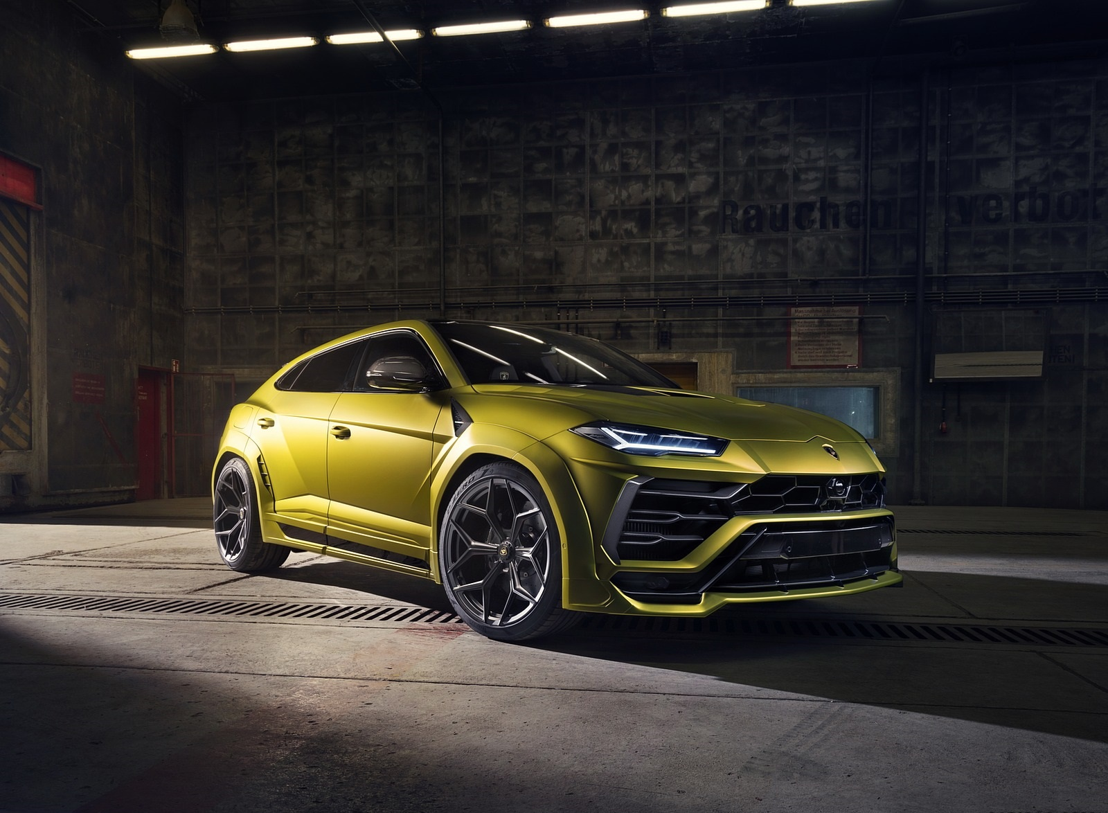 2020 NOVITEC Lamborghini Urus Front Three-Quarter Wallpapers (10)