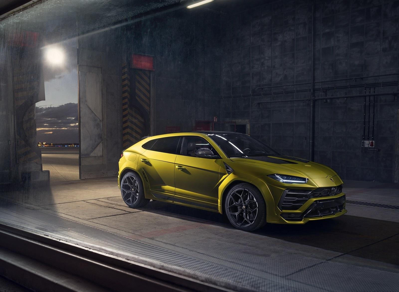 2020 NOVITEC Lamborghini Urus Front Three-Quarter Wallpapers (11)