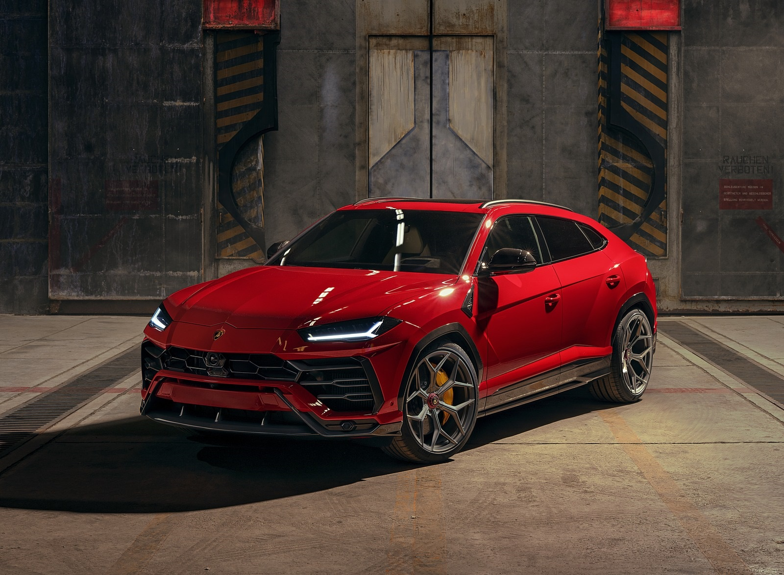2020 NOVITEC Lamborghini Urus Front Three-Quarter Wallpapers (3)