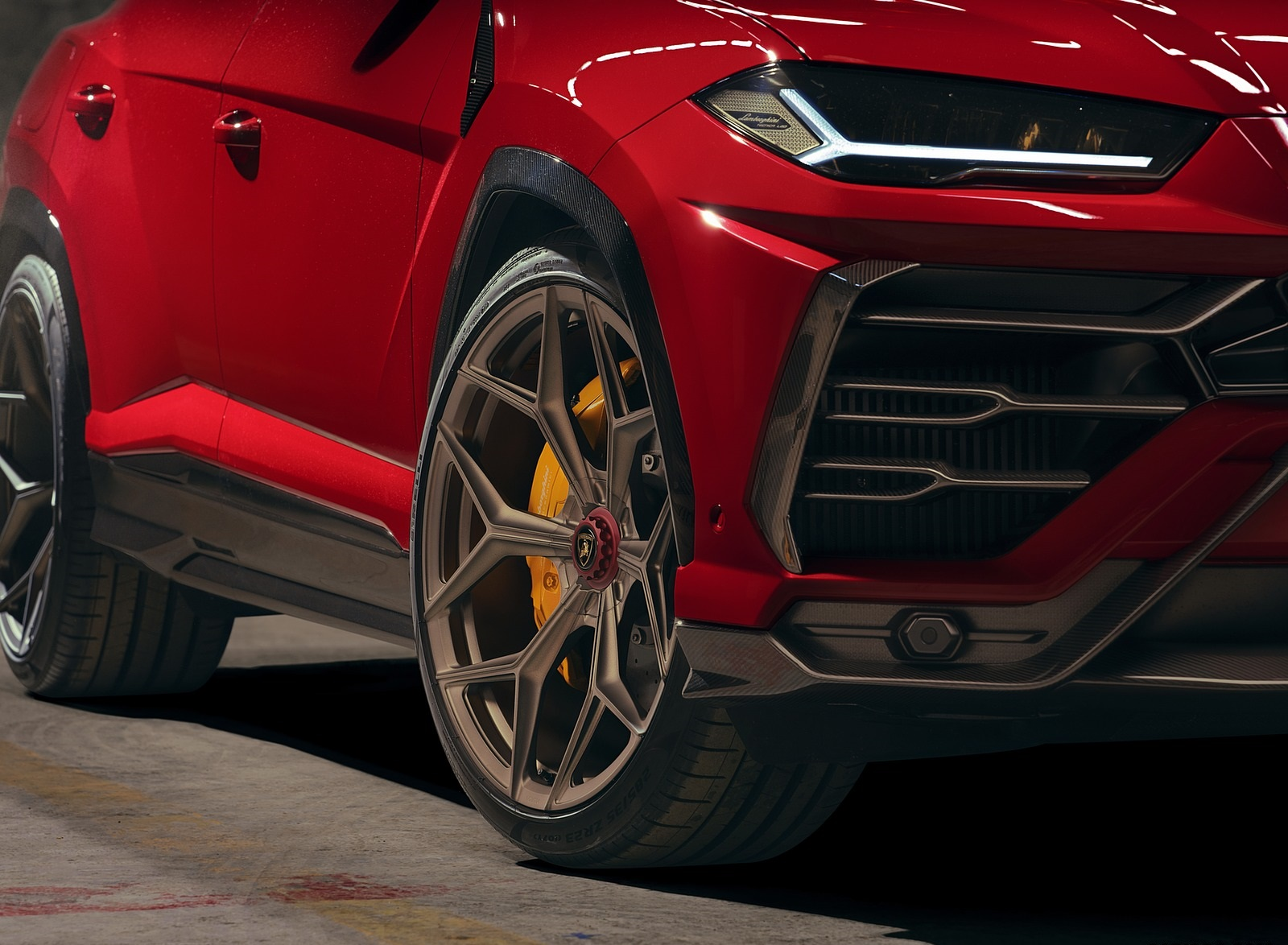 2020 NOVITEC Lamborghini Urus Wheel Wallpapers (7)