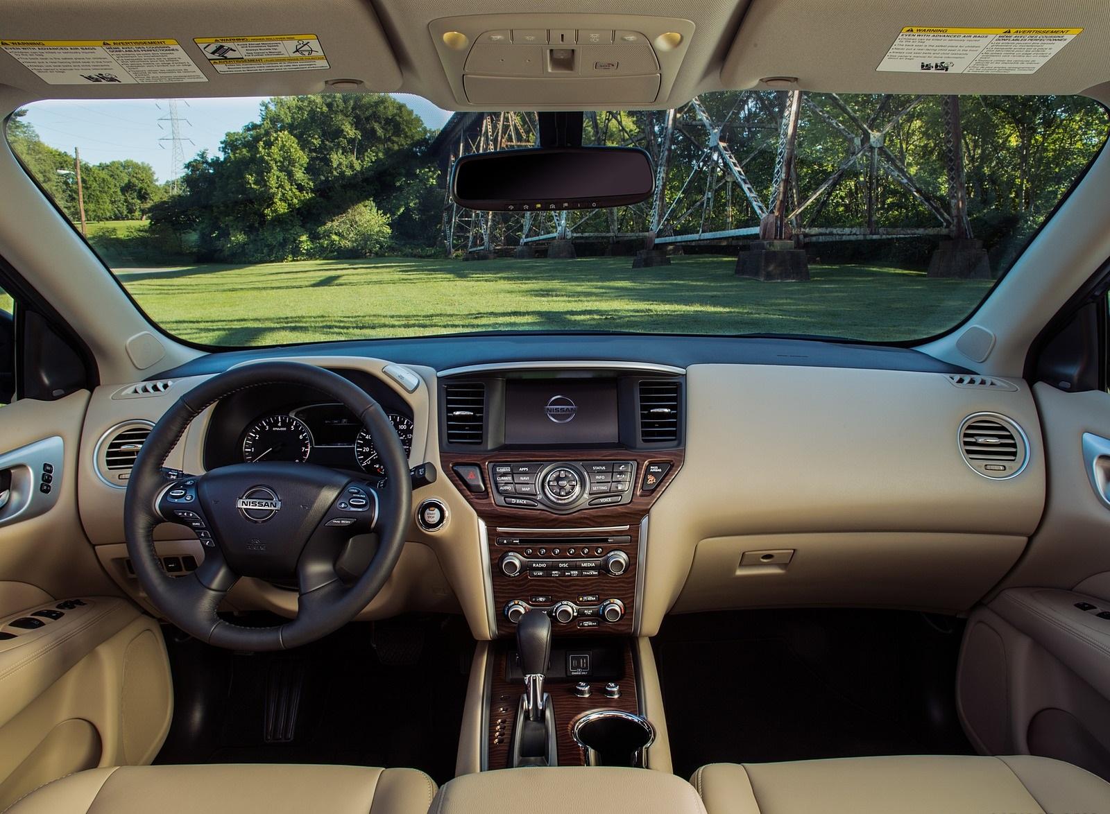 2020 Nissan Pathfinder Platinum 4wd Interior Cockpit Wallpapers 19 Newcarcars