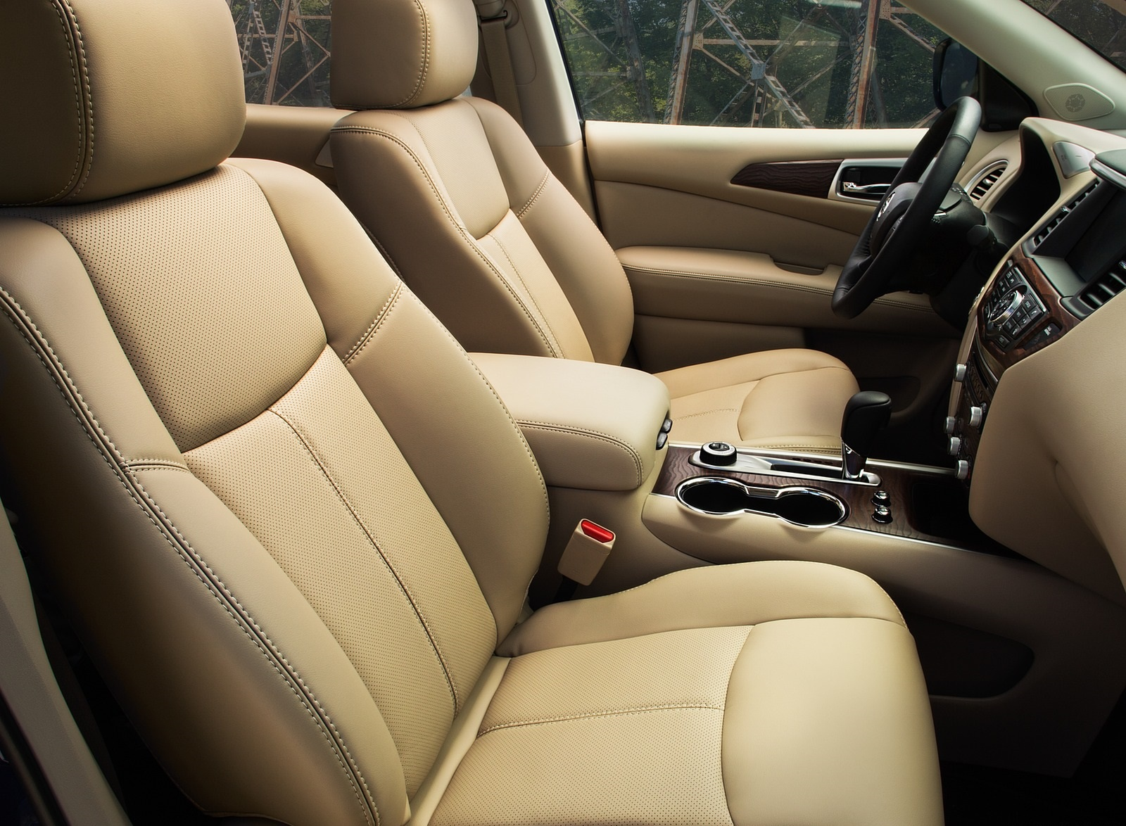 2020 Nissan Pathfinder Platinum 4WD Interior Seats Wallpapers (14)