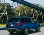 2020 Nissan Pathfinder Platinum 4WD Rear Three-Quarter Wallpapers 150x120 (8)