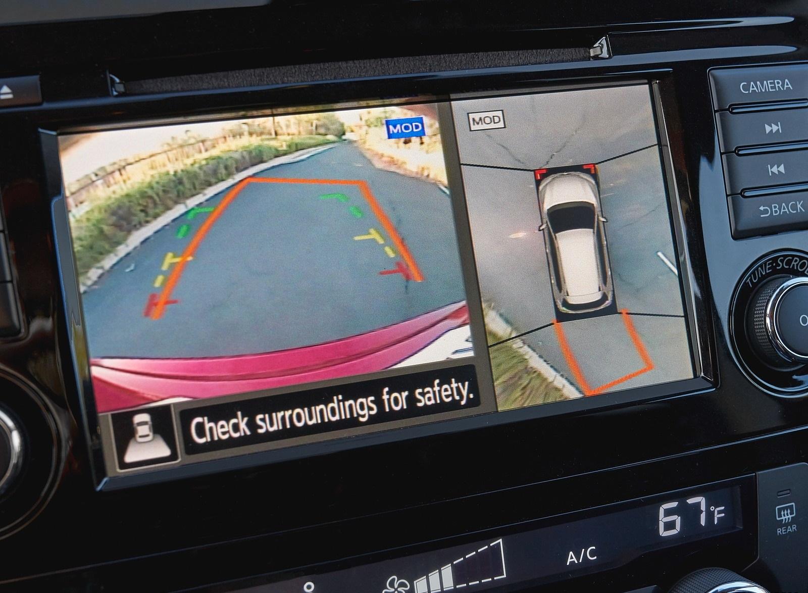 2020 Nissan Rogue 360 Camera Wallpapers (13)