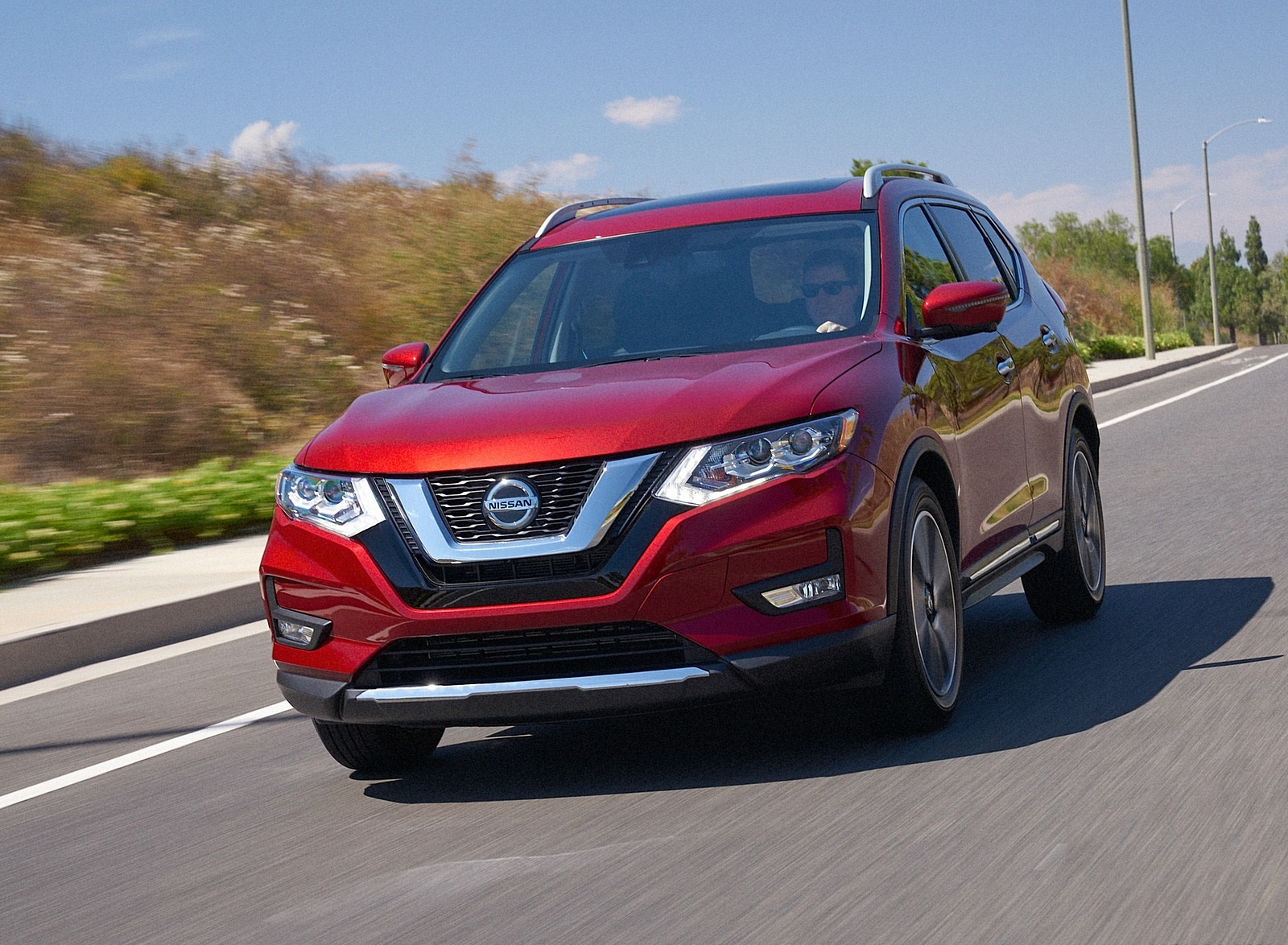 2020 Nissan Rogue Front Wallpapers (1)