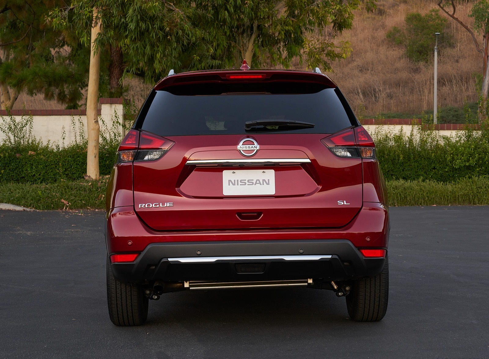 2020 Nissan Rogue Rear Wallpapers (7)