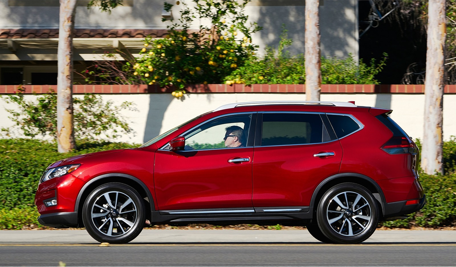 2020 Nissan Rogue Side Wallpapers (6)